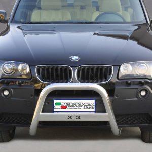 Bmw X3 2003 2005 - EU engedélyes Gallytörő rács - feliratos - mt-220