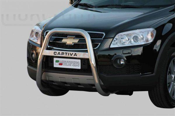 Chevrolet Captiva 2006 2010 - EU engedélyes Gallytörő rács - magasított feliratos - mt-218