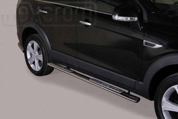 Chevrolet Captiva 2011 - ovális oldalfellépő betéttel - mt-111