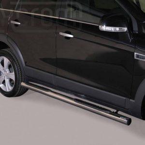 Chevrolet Captiva 2011 - Csőküszöb, műanyag betéttel - mt-178