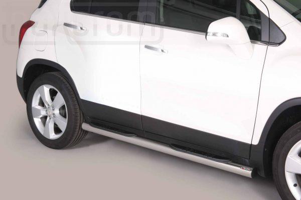 Chevrolet Trax 2013 - Csőküszöb, műanyag betéttel - mt-178