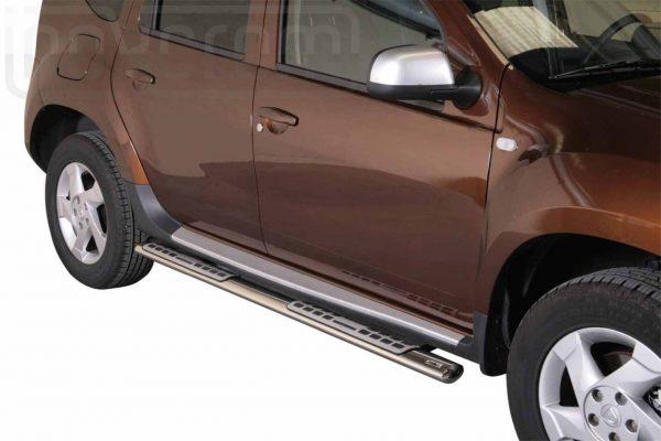 Dacia Duster 2010 2017 - ovális oldalfellépő betéttel - mt-111