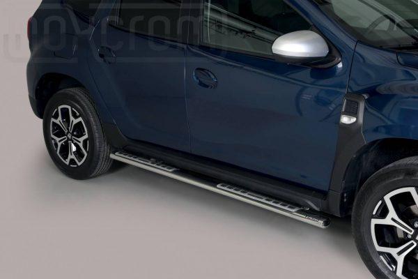 Dacia Duster 2018 - ovális oldalfellépő betéttel - mt-111