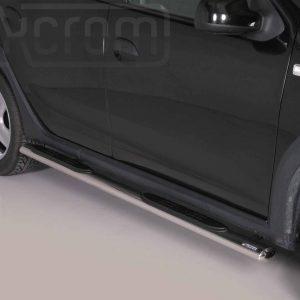 Dacia Sandero Stepway 2013 2019 - Ovális oldalfellépő - mt-192