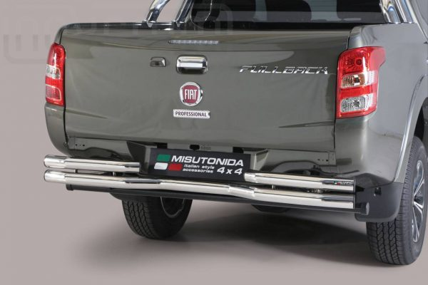 Fiat Fullback 2016 - Dupla csöves hajlított hátsó lökhárító - mt-105