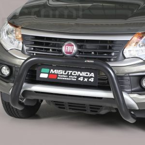 Fiat Fullback 2016 - U alakú EU engedélyes Gallytörő rács - mt-163