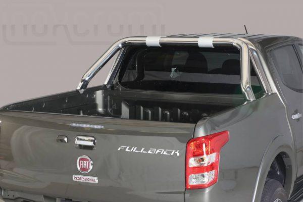 Fiat Fullback 2016 - Dupla borulásvédő - rövid - mt-237