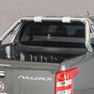 Fiat Fullback 2016 - Dupla borulásvédő - összekötővel rövid - mt-239