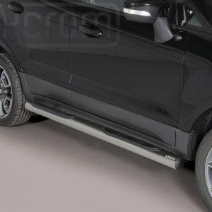 Ford Ecosport 2014 2017 - Csőküszöb, műanyag betéttel - mt-178