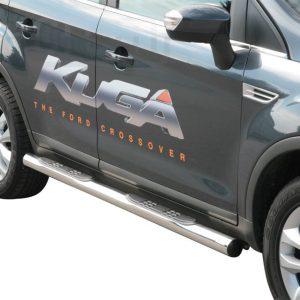 Ford Kuga 2008 2012 - Csőküszöb, műanyag betéttel - mt-178