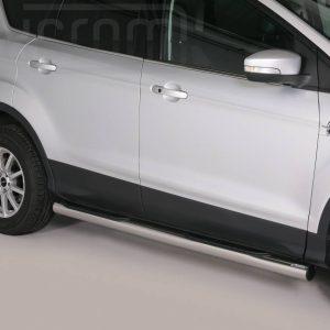 Ford Kuga 2013 2016 - Csőküszöb, műanyag betéttel - mt-178