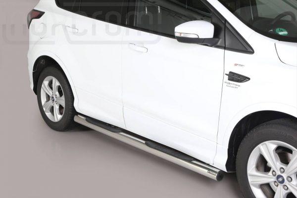 Ford Kuga 2017 - Csőküszöb, műanyag betéttel - mt-178