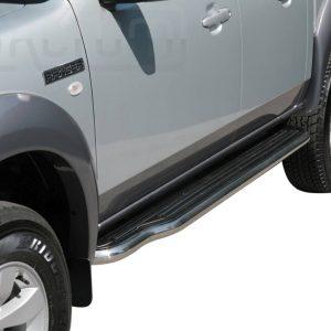 Ford Ranger Double Cab 2007 2009 - Lemezbetétes oldalfellépő - mt-221