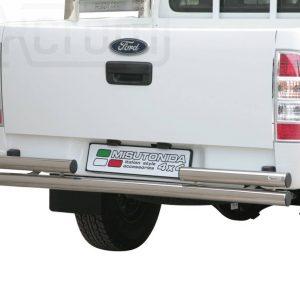 Ford Ranger Double Cab 2009 2011 - Dupla csöves hátsó lökhárító - mt-101