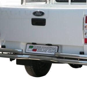 Ford Ranger Double Cab 2009 2011 - Dupla csöves hajlított hátsó lökhárító - mt-105