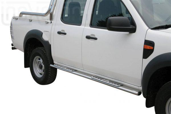 Ford Ranger Double Cab 2009 2011 - ovális oldalfellépő betéttel - mt-111