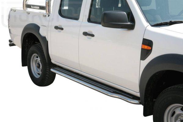 Ford Ranger Double Cab 2009 2011 - Lemezbetétes oldalfellépő - mt-221