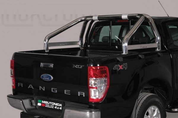 Ford Ranger Double Cab 2012 2015 - Szimpla borulásvédő - összekötővel - mt-263