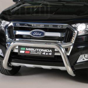 Ford Ranger Double Cab 2016 2018 - EU engedélyes Gallytörő rács - U alakú - mt-157