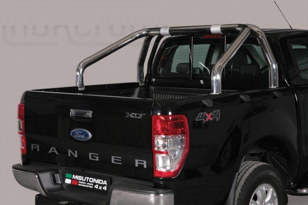 Ford Ranger Double Cab 2016 2018 - Szimpla borulásvédő - mt-251
