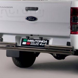 Ford Ranger Double Cab 2019 - Dupla csöves hátsó lökhárító - mt-102