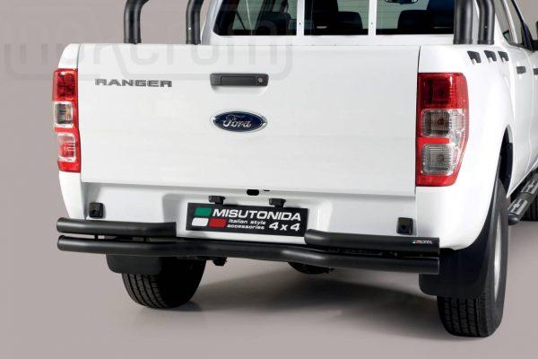 Ford Ranger Double Cab 2019 - Dupla csöves hajlított hátsó lökhárító - mt-107
