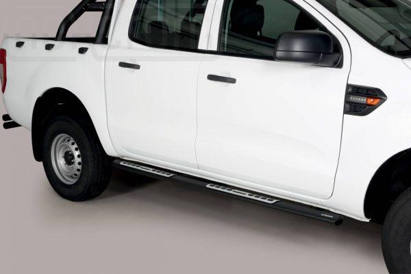 Ford Ranger Double Cab 2019 - ovális oldalfellépő betéttel - mt-112