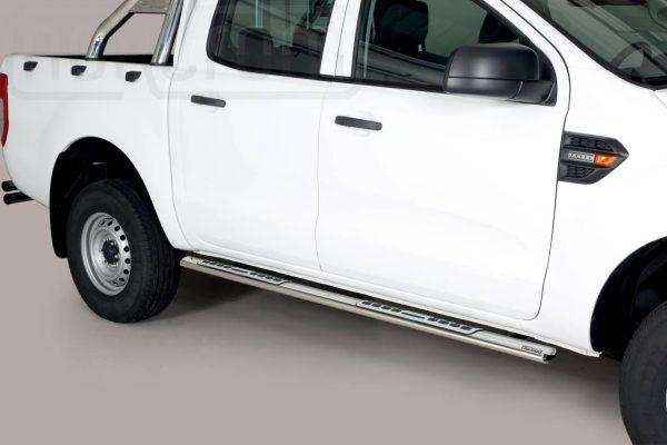 Ford Ranger Double Cab 2019 - ovális oldalfellépő betéttel - mt-111