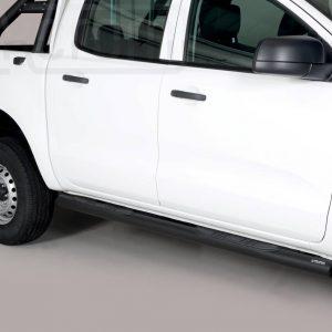 Ford Ranger Double Cab 2019 - Csőküszöb, műanyag betéttel - mt-180