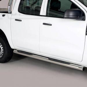 Ford Ranger Double Cab 2019 - Csőküszöb, műanyag betéttel - mt-178