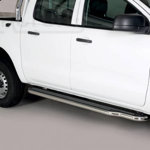 Ford Ranger Double Cab 2019 - Lemezbetétes oldalfellépő - mt-221