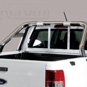 Ford Ranger Double Cab 2019 - Dupla borulásvédő - összekötővel rövid - mt-245
