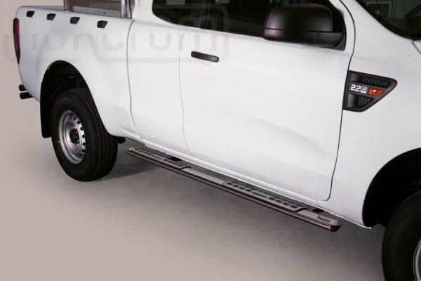 Ford Ranger Single Cab 2012 - ovális oldalfellépő betéttel - mt-111