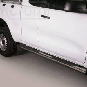 Ford Ranger Single Cab 2012 - Csőküszöb, műanyag betéttel - mt-178