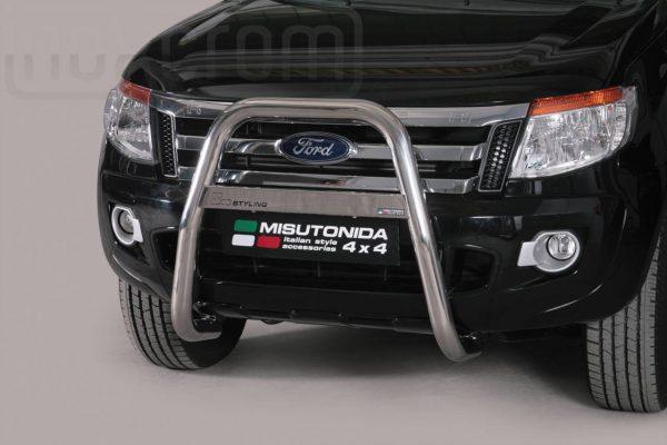 Ford Ranger Single Cab 2012 - EU engedélyes Gallytörő rács - magasított - mt-214