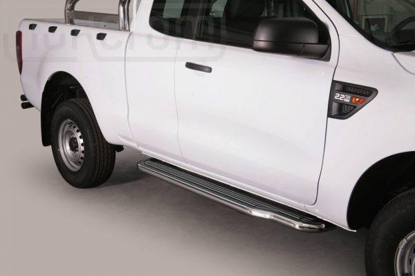 Ford Ranger Single Cab 2012 - Lemezbetétes oldalfellépő - mt-221