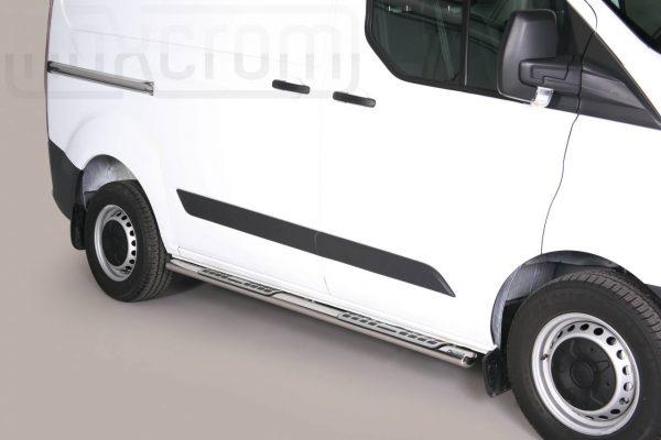 Ford Transit Custom Swd L1 2013 2017 - ovális oldalfellépő betéttel - mt-111