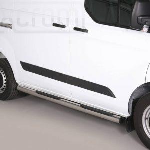 Ford Transit Custom Swd L1 2013 2017 - Csőküszöb, műanyag betéttel - mt-178
