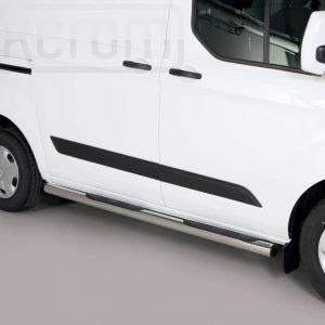 Ford Transit Custom Swd L1 Tourneo 2018 - Csőküszöb, műanyag betéttel - mt-178