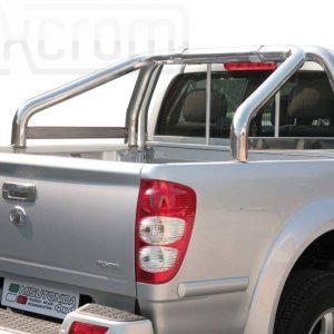 Great Wall Steed Wingle Double Cab 2011 - Szimpla borulásvédő - összekötővel - mt-262