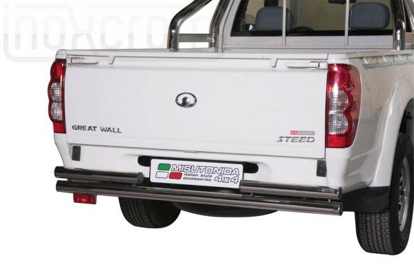 Great Wall Steed Wingle Single Cab 2010 2011 - Dupla csöves hátsó lökhárító - mt-101