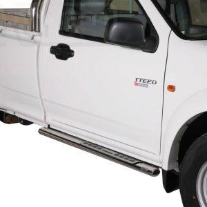Great Wall Steed Wingle Single Cab 2010 2011 - ovális oldalfellépő betéttel - mt-111
