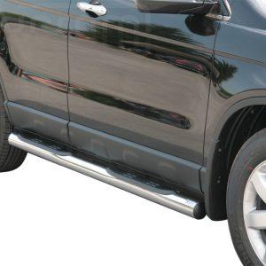 Honda Cr V 2007 2010 - Csőküszöb, műanyag betéttel - mt-178