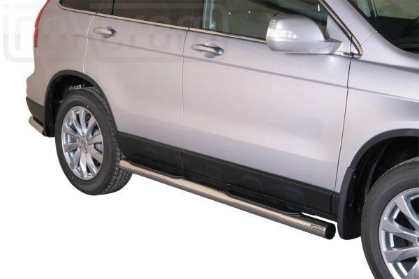 Honda Cr V 2010 2012 - Csőküszöb, műanyag betéttel - mt-178
