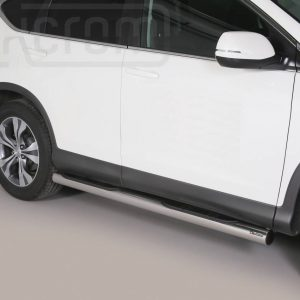 Honda Cr V 2012 2015 - Csőküszöb, műanyag betéttel - mt-178