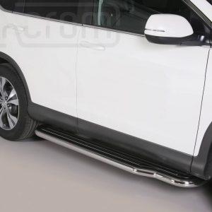 Honda Cr V 2012 2015 - Lemezbetétes oldalfellépő - mt-221