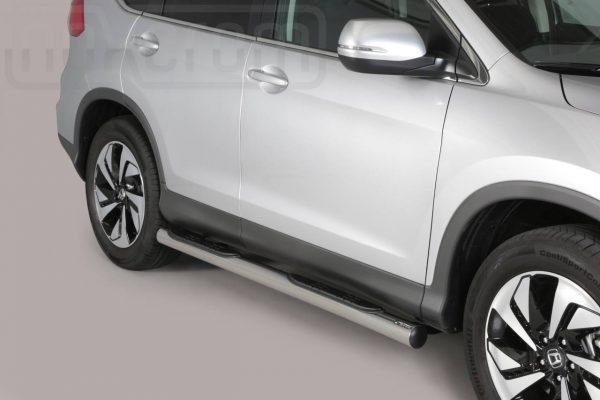 Honda Cr V 2016 2018 - Csőküszöb, műanyag betéttel - mt-178