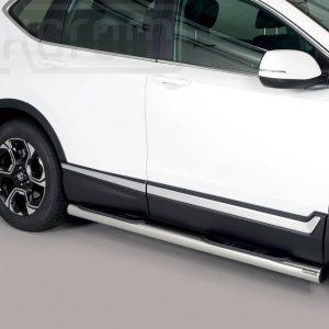 Honda Cr V Hybrid 2019 - Csőküszöb, műanyag betéttel - mt-178