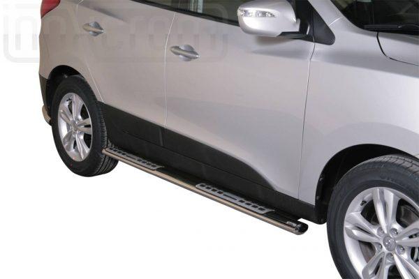 Hyundai Ix 35 2011 - ovális oldalfellépő betéttel - mt-111