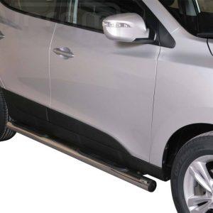Hyundai Ix 35 2011 - Csőküszöb, műanyag betéttel - mt-178